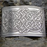 (KB08) Celtic Knotwork Kilt Buckle
