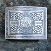 (KB24) Celtic Knotwork Kilt Buckle