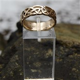 (GR01) Gold Celtic Band