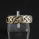 (GR1) Gold Celtic Filigree Ring