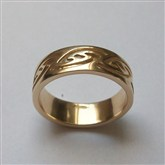 (GR22) Gold Bernera RIng