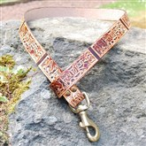 (DC101) Egyptian Leather Dog Lead