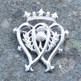 (SCB3b) Silver Luckenbooth Brooch