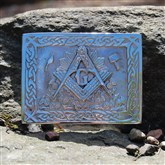 (KB12) Masonic Kilt Buckle
