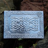(KB07) Celtic Dragons Kilt Buckle