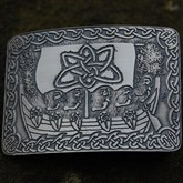 (KB14) Celtic Sea Farers Kilt Buckle